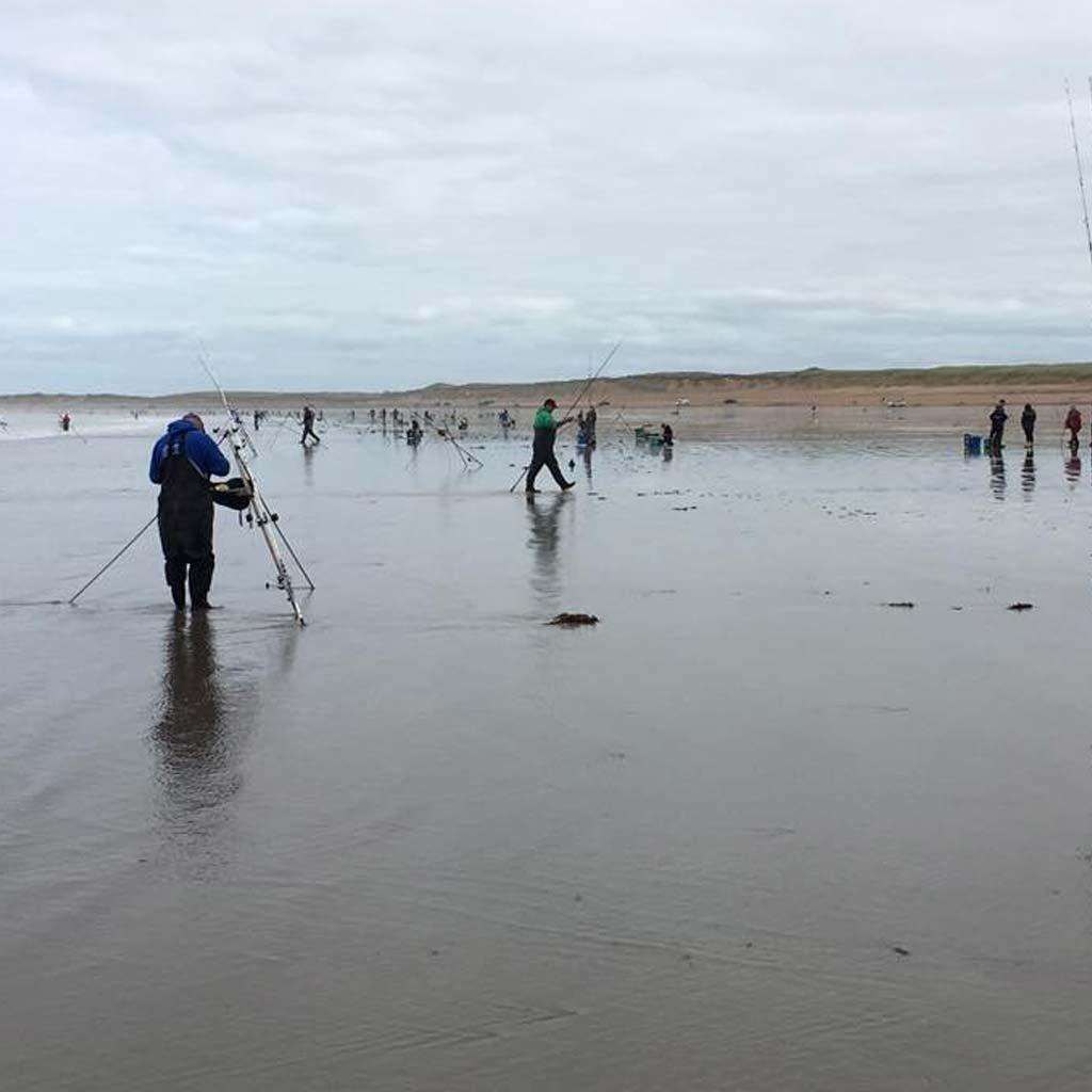 busy inch beach during the daiwa pairs