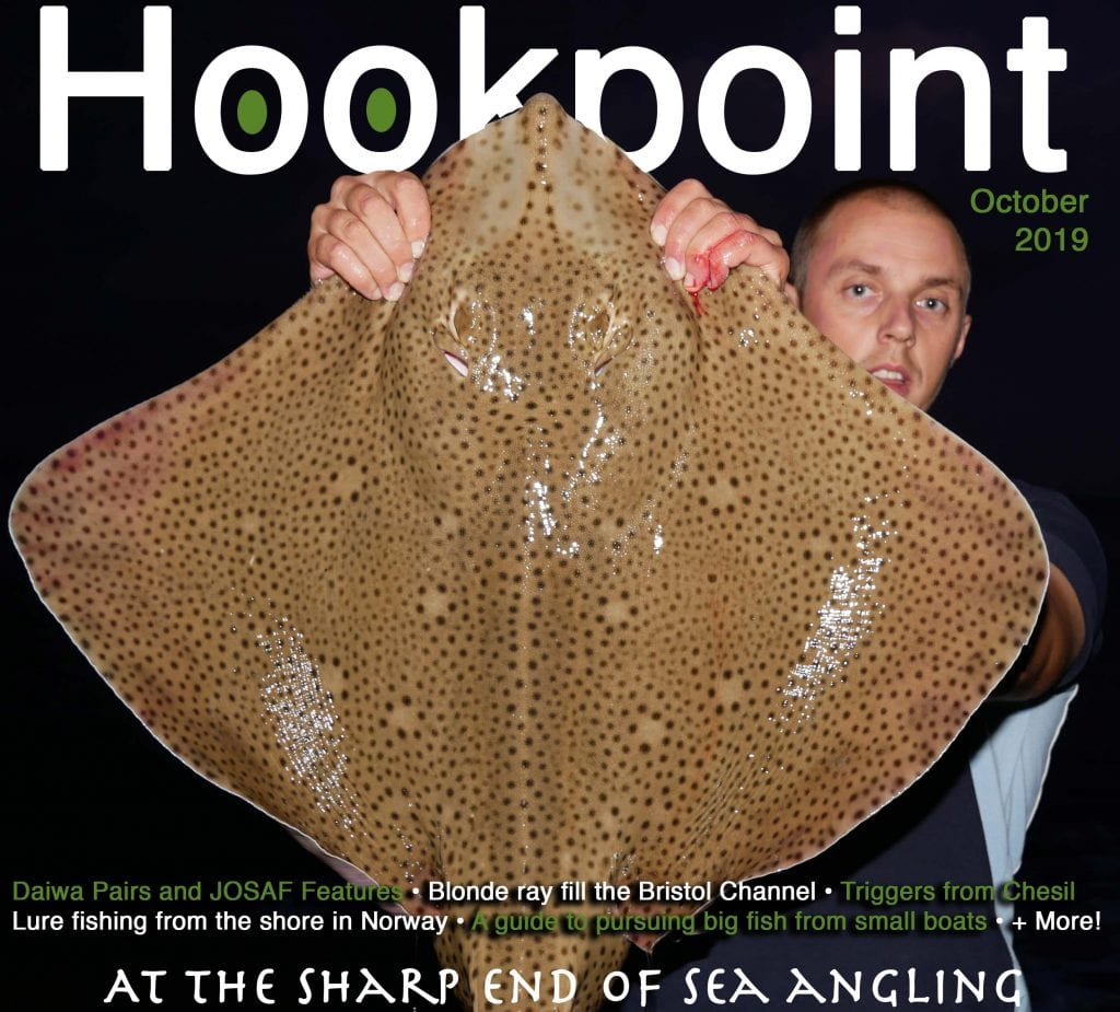 october cover of hookpoint carl mccormack with a specimen blonde ray