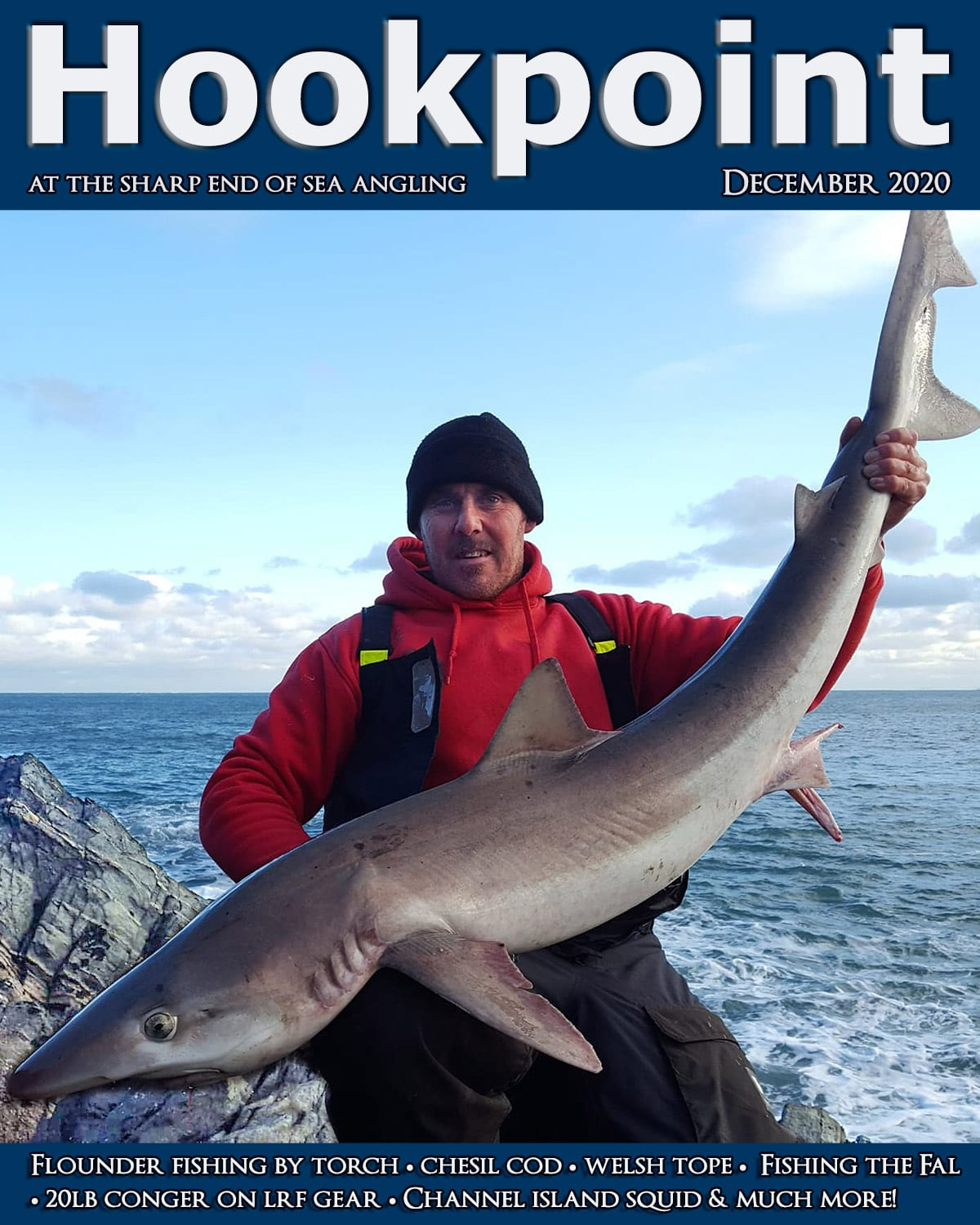 Hookpoint december 2020 cover dean brinn with a pembrokeshire tope